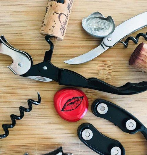 Wine Corkscrews and Foil Cutters