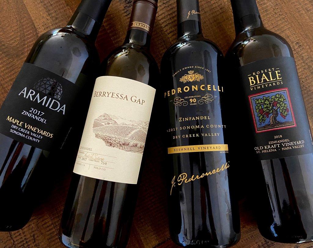 Zinfandel wines